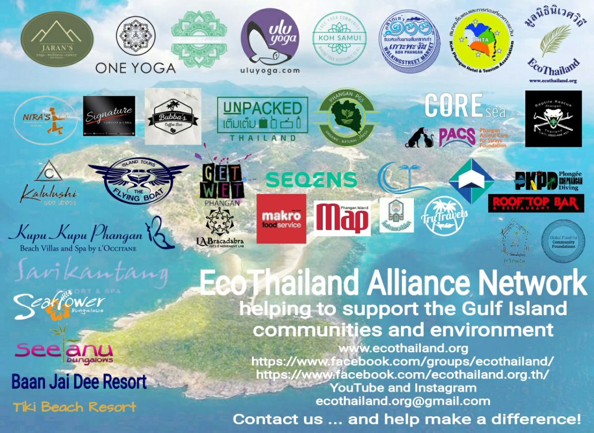 ecothailand alliance network phangan samui tao paluai