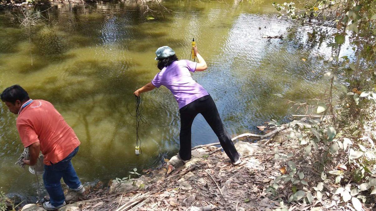 river water sampling